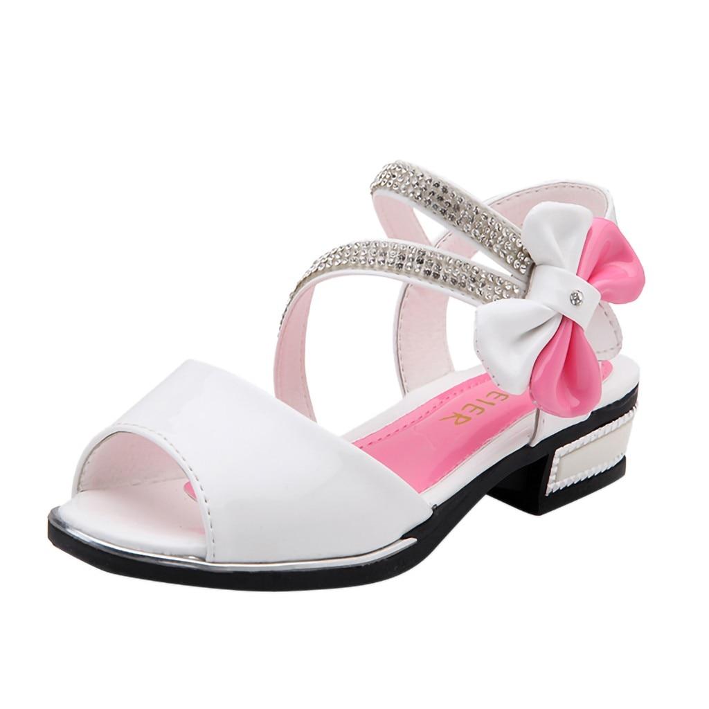 Dance-Sandals Shoes Toddler Baby-Girls Kids Beach Summer Children's Casual Bowknot Infant