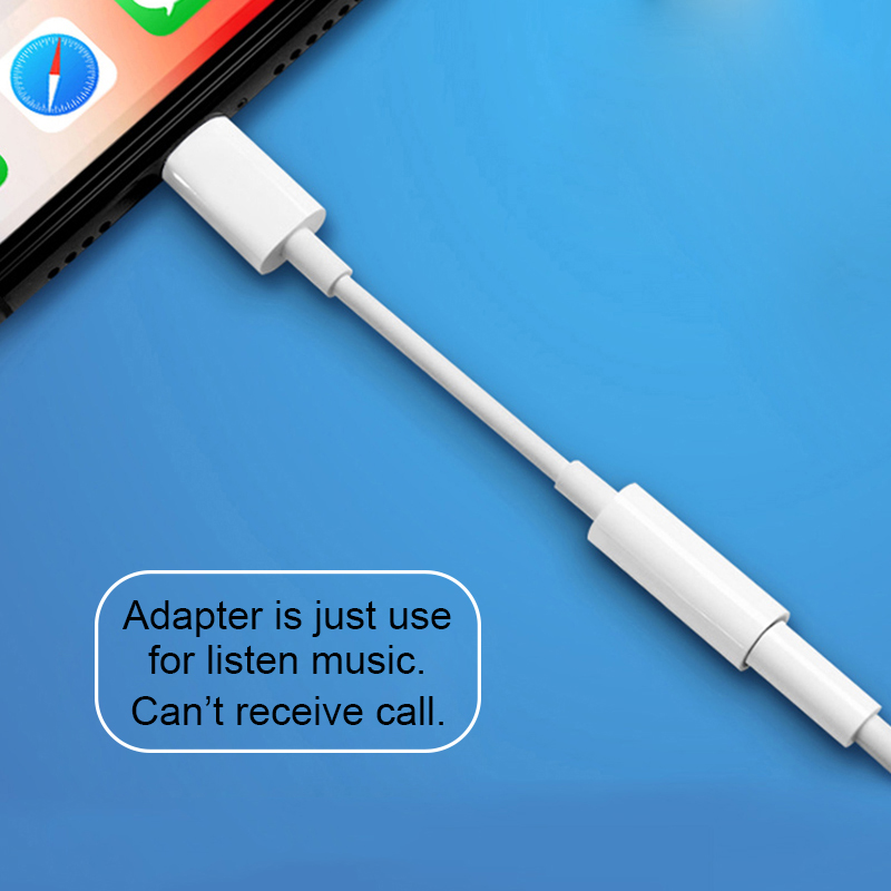 Адаптер для наушников для iPhone 7 8 11 X XR AUX Наушники Adaptador на IOS 11 12 13 до 3,5 мм Jack женские адаптеры для зарядного устройства