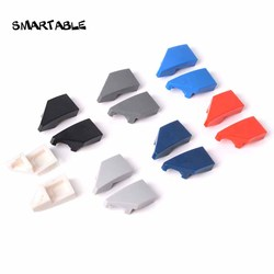 Smartable Wedge 1x2 Right + Left Building Blocks parts Toys For Kids Creative Compatible Major Brand 29119+29120 40 pairs/lot