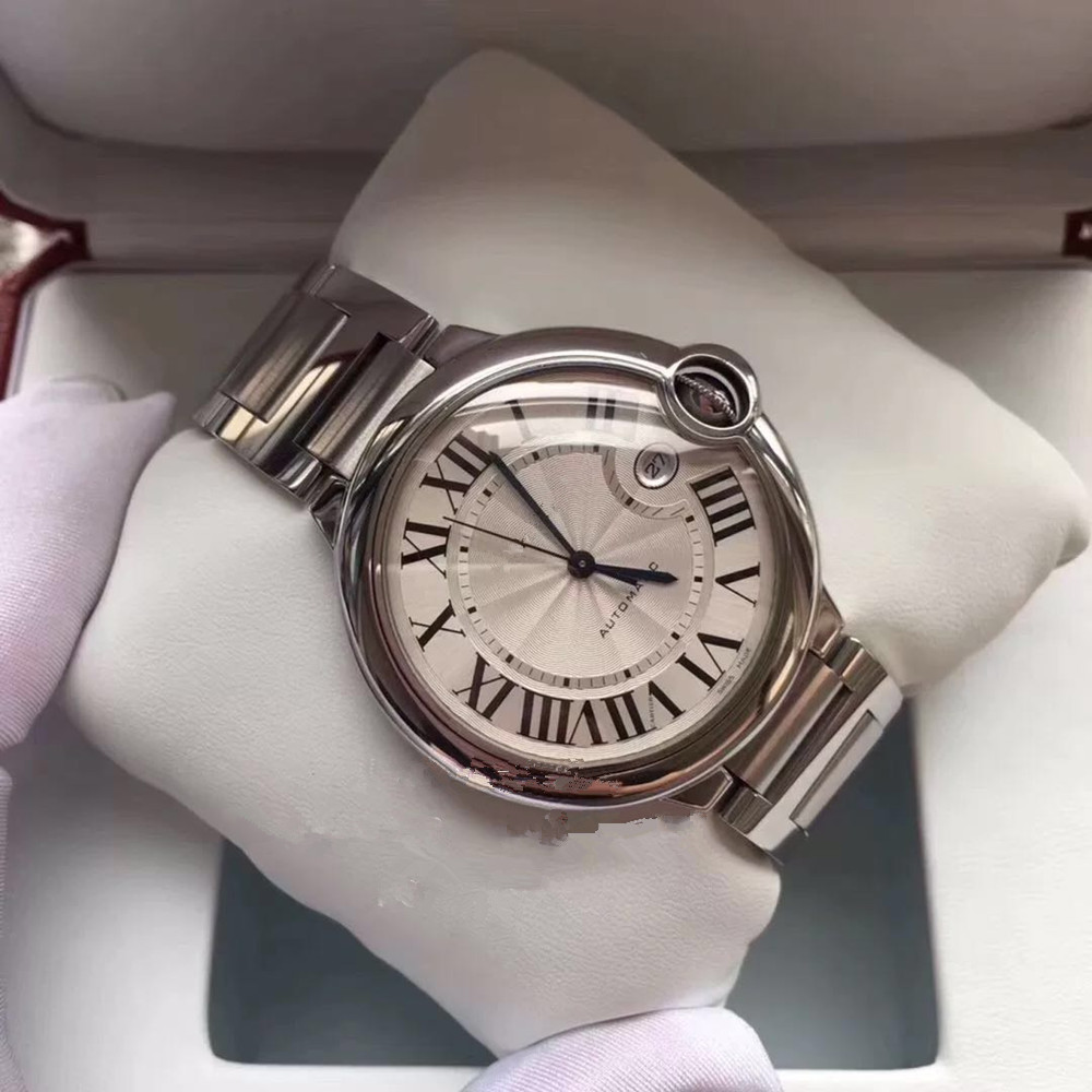 Unisex Luxury Sports Automatic Mechanical Watch 904L steel sapphire glass Watch Retro Watch