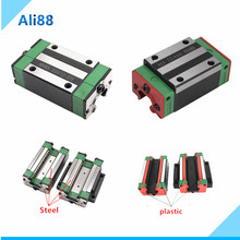 slides block HGH20CA /flange HGW20CC linear bearing same size as HIWIN Be used for be used for HGR20 linear guide for CNC parts
