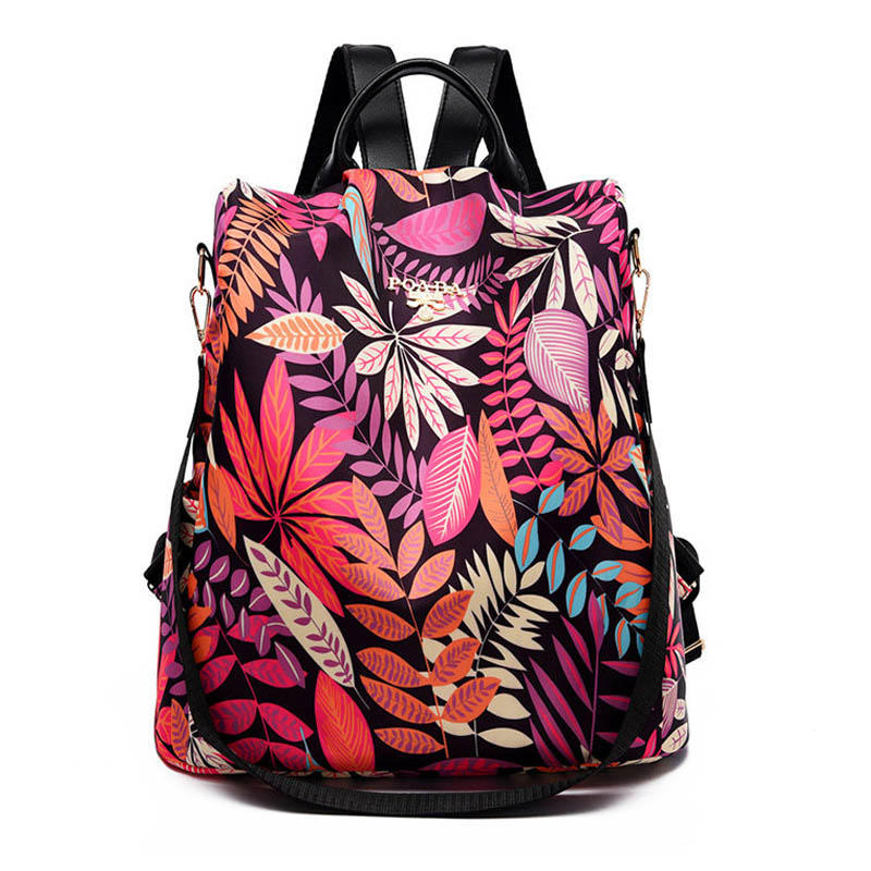 Fashion Anti-theft Women Backpacks Large Capacity School Bag For Teeanger Girls Hight Quality Multi-pocket Ladies Backpacks