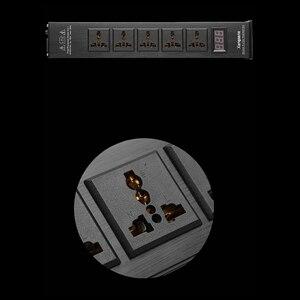 Image 2 - Xangsane LED جودة عالية متقدمة الصوت لتنقية الطاقة تصفية التيار المتناوب مقبس الطاقة العالمي تصفية الطاقة نمط جديد