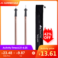 Aluminum Alloy Portable Lightweight Camping Tent Pole Tent Supporting Rod Outdoor Camping Canopy Awning Frames Accessory