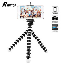 Grande Octopus Tripé Flexível Gorillapod para Dslr e Câmera Telefon Telefone Celular Smartphone Table Desk Mini Tripé(China)