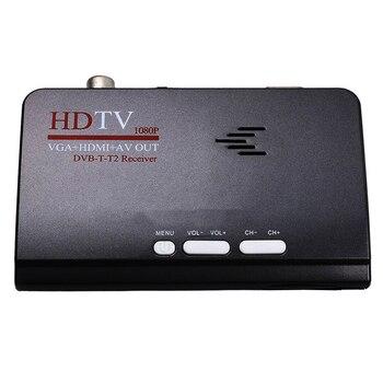 цена на AMS-Smart Tv Box Us Plug 1080P Hd Dvb-T2/T Tv Box Hdmi Usb Vga Av Tuner Receiver Digital Set-Top Box-Eu Plug