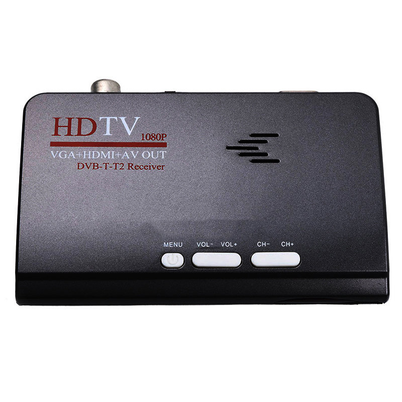 AMS-Smart Tv <font><b>Box</b></font> Uns Stecker 1080P Hd Dvb-<font><b>T2</b></font>/T Tv <font><b>Box</b></font> Hdmi Usb Vga Av-Tuner empfänger Digitale Set-Top-<font><b>Box</b></font>-Eu Stecker image