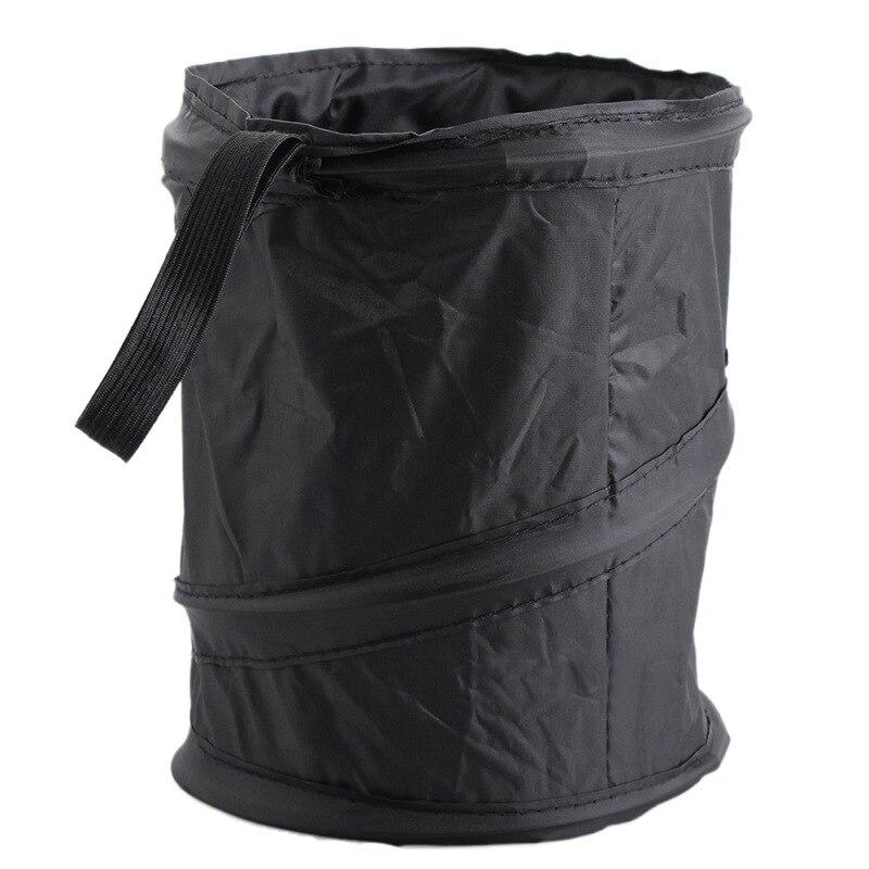 Car Interior Accessories Durable Collapsible Portable Car Trash Can Garbage Bag Car Storage Bucket