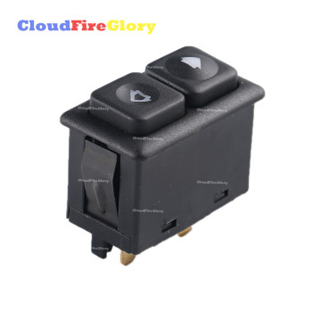 For BMW 318i 1991 1992 325i 1987-1993 M3 1988 1989-1991 E23 E24 E28 E30 New 5Pin Illuminated Power Window Switch 61311381205 image