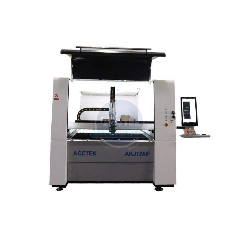 Special Offer Small Size Cnc Laser Metal Sheet Cutter Cnc Fiber Laser Cutting Metal Machine AKJ1390F