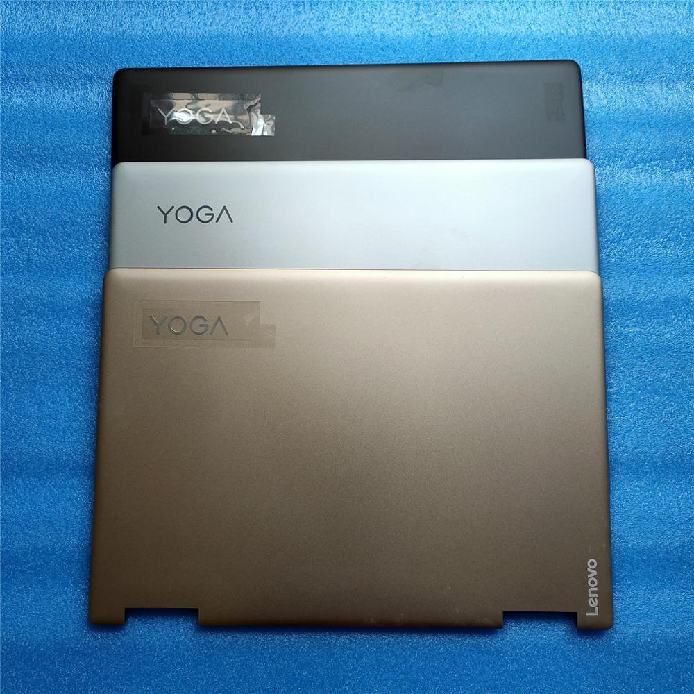 Nouveau Original ForLenovo Yoga 710-14 710-14ISK 710-14IKB LCD couverture arrière couvercle arrière couleur or et noir