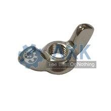 10Pcs DIN315 M3 M4 M5 M6 M8 M10 Galvanized Hand Tighten Nut Butterfly Ingot Wing Nuts