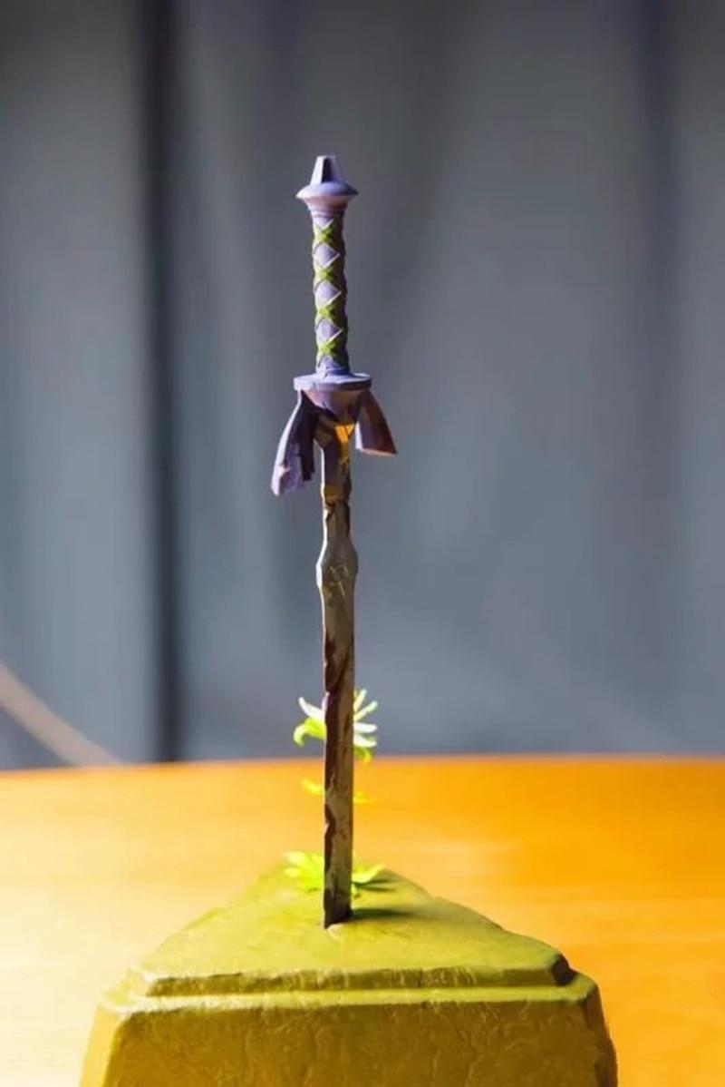 26Cm Zelda Skyward Sword Link Master Sword Action Figure Toys Doll Gift with Box