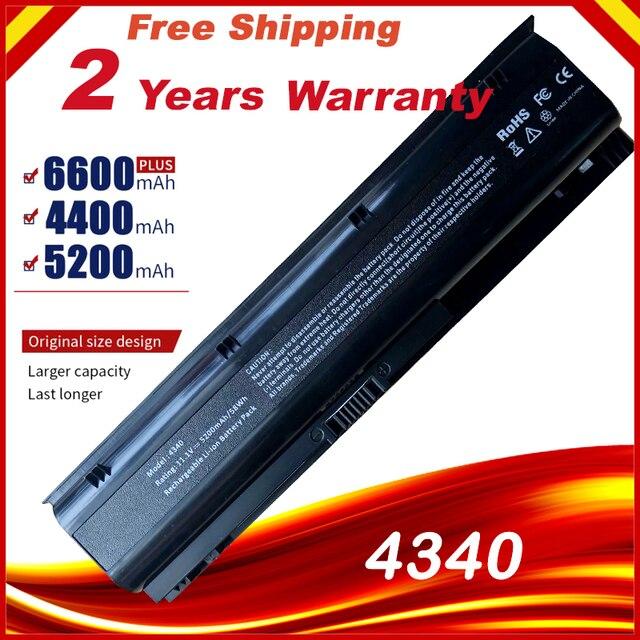 محمول بطارية لجهاز HP ProBook 4340s 668811 541 668811 851 669831 001 H4R53EA HSTNN UB3K HSTNN W84C HSTNN YB3k RC06 RC06XL