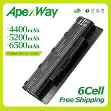 Apexway 6Cell New A32-N56 Battery for ASUS N56V N56VJ N56VM N76 N76VZ A31-N56 A33-N56 N46 N46V N46VJ N46VM N46VZ N56 audio board 3 0 for asus n56 n56v n56vz n56vm usb audio board