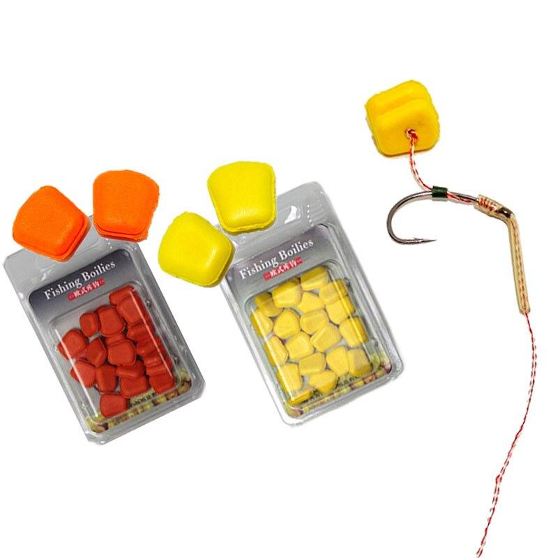 200pcs PVC Smell Pop Up Corn Sweetcorn Carp Coarse Fishing Imitation Bait Tackle