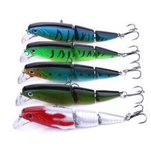 Hard-Bait Fish-Accessories Fishing-Lures Multi-Section Artificial Bait-Lifelike Plastic