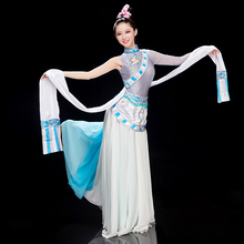 Festival Outfit Costume Tibetan Dress Dance-Wear Folk Stage Chinese Traditional Female