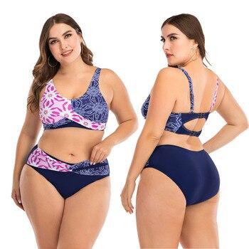 Push Up Bikini Sets Swimwear Women Swimsuit 2020 Plus Larges Size Bathing Swimming  Suits Beachwear For Famale Sexy Biquini Wear 18