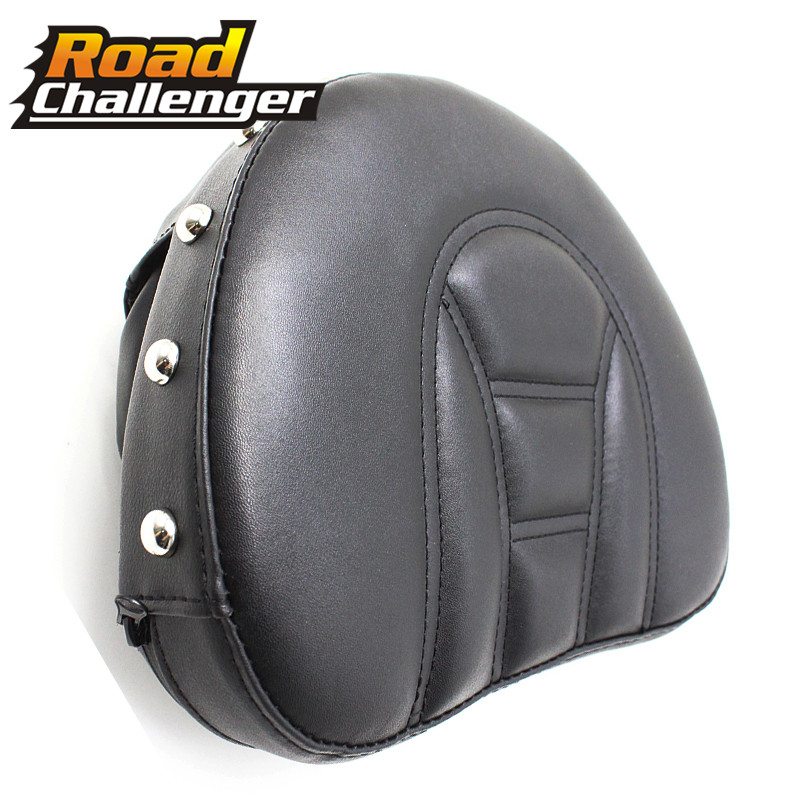 Motorcycle Accessories Covers Backrest Pad Front Driver Rider Sissy Bar Seat For Touring Road Gilde
