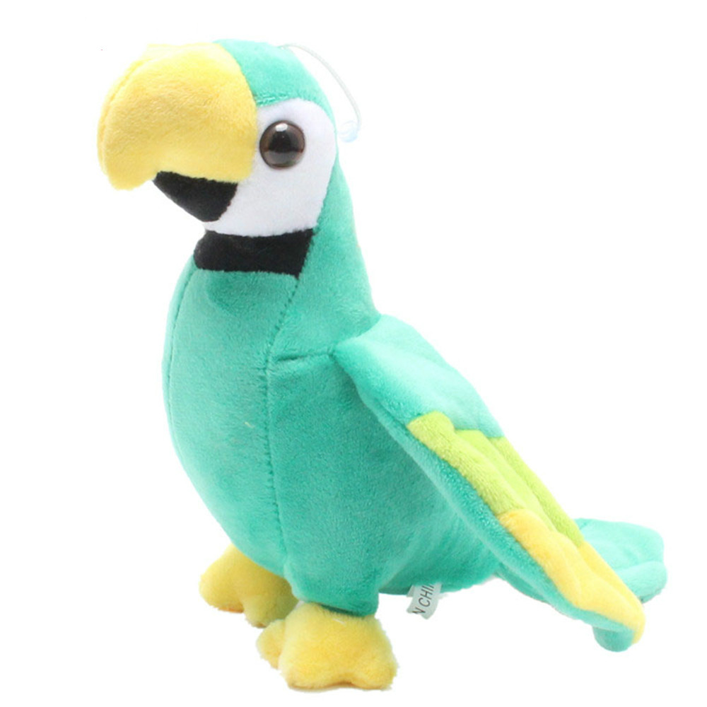 Cute Parrot Stuffed Plush Animal Rio Macaw Parrots Plush Toy Parrots Baby Doll 20cm