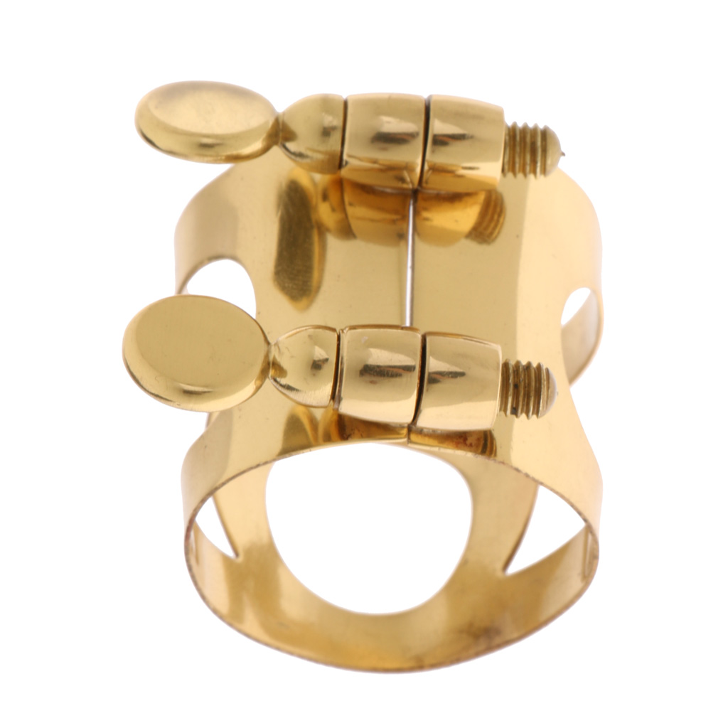 Alto Eb Saxophone Metal Ligature Clip Clamp,Sax Mouthpiece Accessory Parts