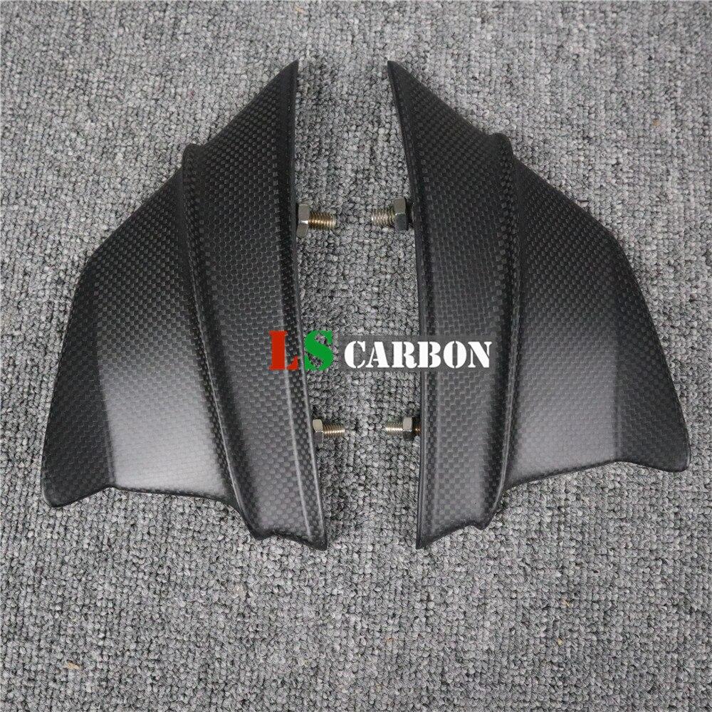 For Ducati Panigale V4,V4S Full Carbon Fiber Motorcycle  Winglet Aerodynamic Wing Kit Spoiler