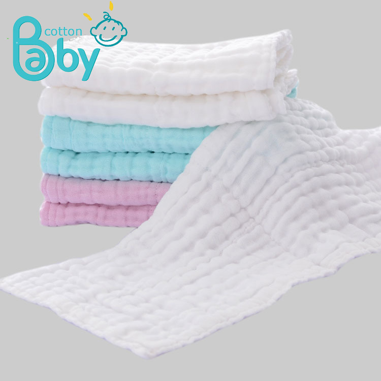 2Pcs 18*45CM Baby Diaper Inserts Baby Stuff Nappy Repeated Use Gauze Cloth Cover Nappy Muslin Cotton Reusable Newborn Diapers