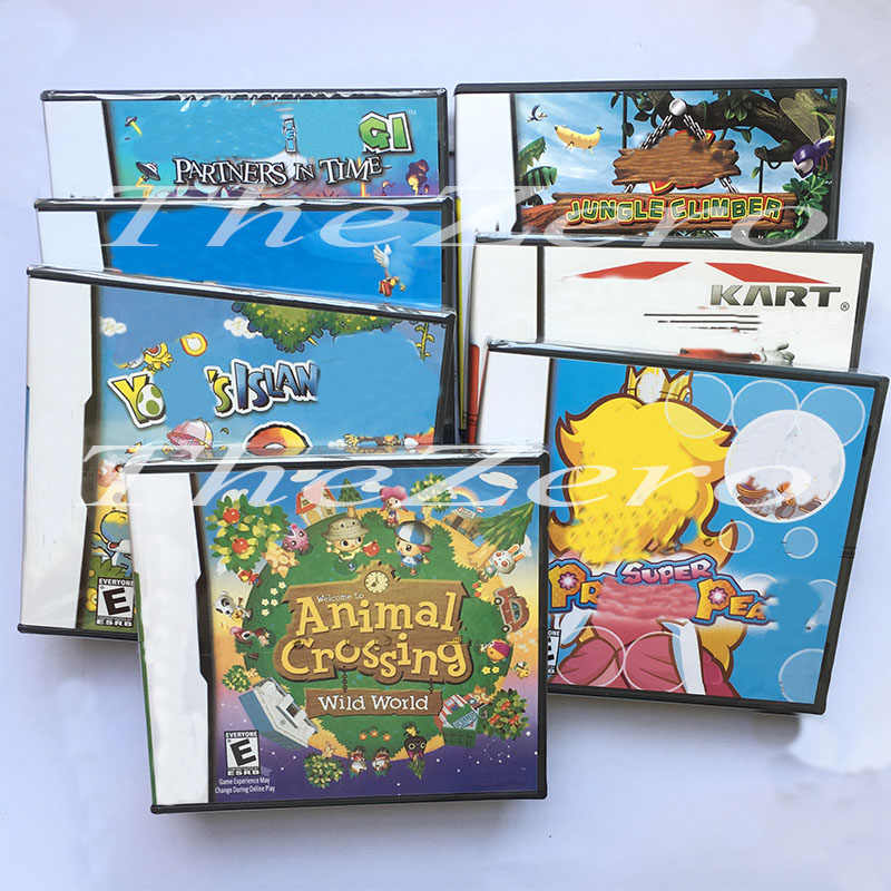 Animal Crossing Yshis_Island Kart Phantom Ore Usa Versione Video Console di Gioco di Carta con Scatole E Manuale per La Console Super Combo