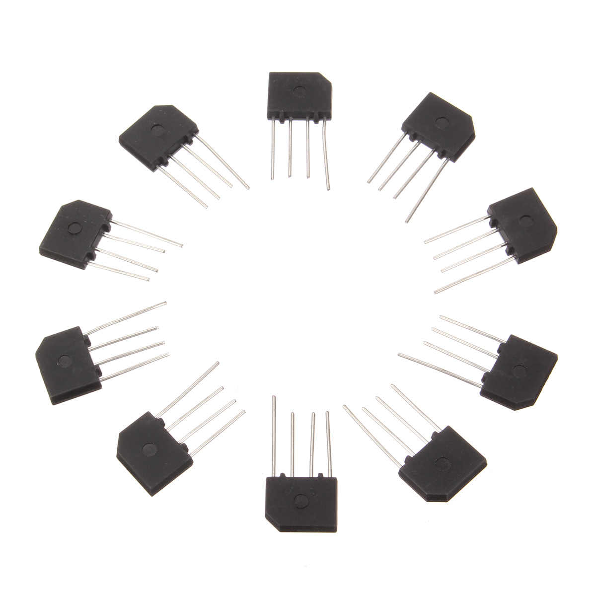 10PCS 3A 1000V KBP307 diode bridge rectifier KBP 307 power diode electronica componentes