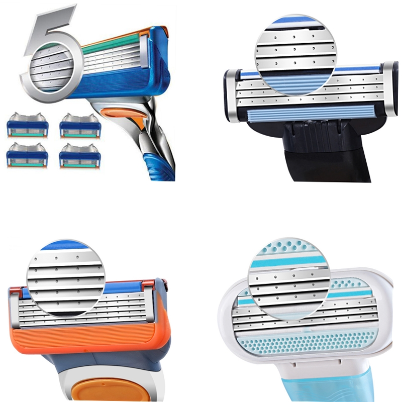 4 Stype Blades Shaving Razor Blades For Men Power Shaver Blades Proglide Shaving Blades Replacem