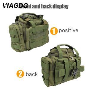 Image 5 - 15L 다기능 군사 전술 숄더 가방 600d 옥스포드 메신저 가방 야외 등산 사냥 하이킹 낚시 여행 포켓
