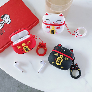 Cute Cat Duck Earphone Protection Case For Huawei FreeBuds 3 Silicone Wireless Bluetooth Headset Case For FreeBuds 3 Case Coque(China)