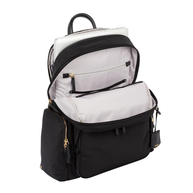 Computador portátil mochila grande aberto computador mochila portátil saco da faculdade das mulheres resistente à água saco de viagem de negócios pacote - 6