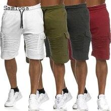 Шорты samlona мужские прямые повседневные летние модные шорты
