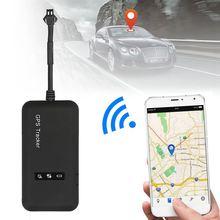 Мини в реальном времени gps автомобильный трекер локатор GT02 GPRS GSM устройство слежения автомобиль/грузовик/фургон