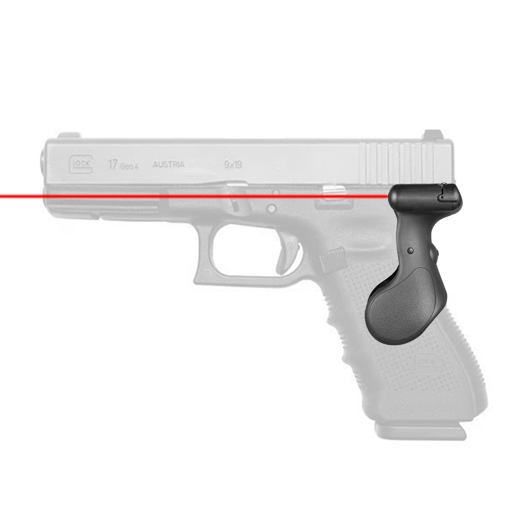 Tactical Hunting Red Laser Sight G17 Grip Red Dot Laser Pointer Sight