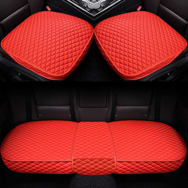 التغطية الكاملة الكتان الألياف غطاء مقعد السيارة مقاعد السيارات يغطي لتويوتا RAV4 C-HR IZOA كامري الهجين كورولا الهجين ليفين الهجين PLU