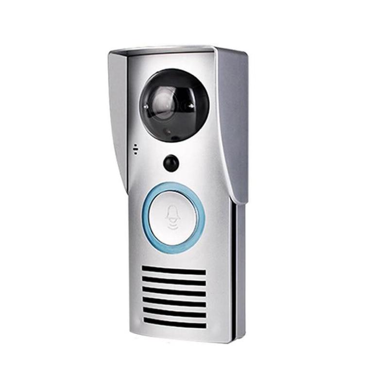 Intelligent WIFI Video Doorbell Wireless Video Doorbell Remote Home Monitoring Video Voice Intercom (EU PLUG)