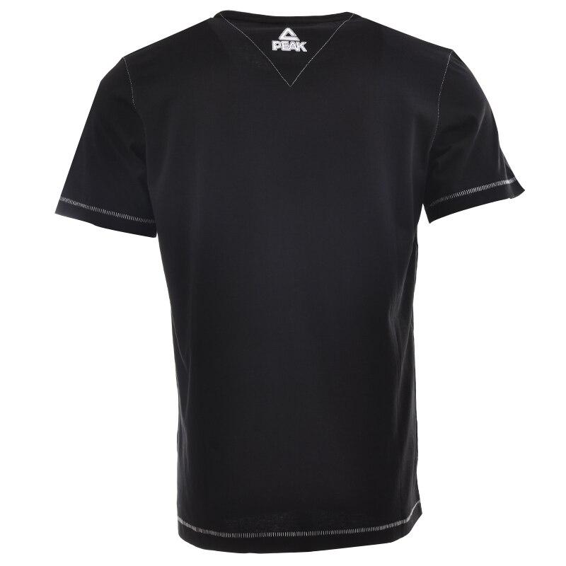 T-shirts casuais dos homens do pico de