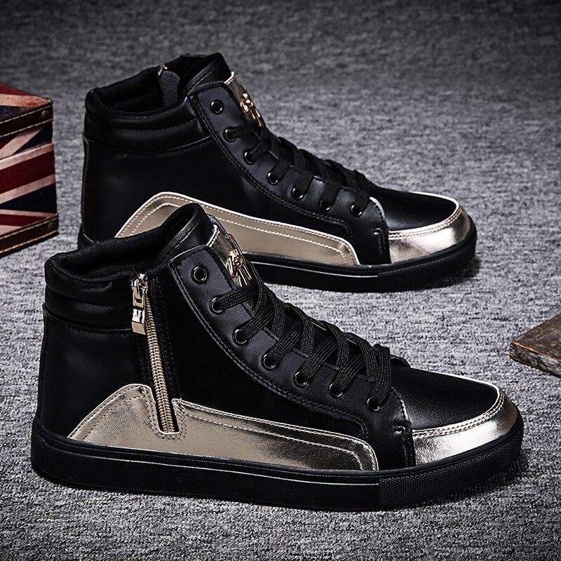 Online Shop Men Casual Shoes Zipper