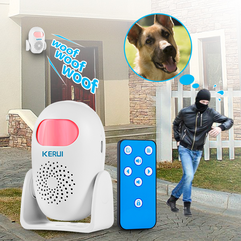 KERUI M120 Smart 100db PIR Infrared Anti-theft Burglar Welcome Multifunction Human Motion Detector For Garage Shop Home Security
