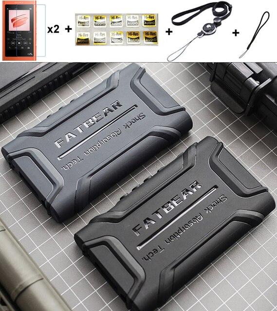 Anti Dérapage Anti coup Antichoc Armure De Protection coque peau Housse Pour Sony Walkman NW A55HN A56HN A57HN A50 A55 A56 A57