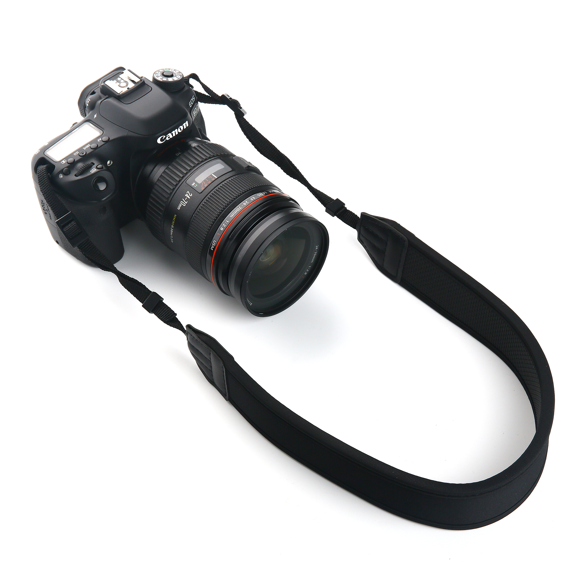 Yellow Thick Quick Rapid Single Shoulder Sling Neck Padded Strap Belt for Camera SLR//DSLR Nikon Canon Sony