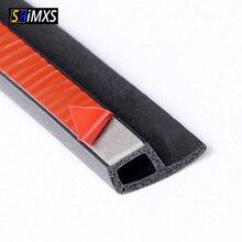 Joint détanchéité en caoutchouc en forme de P pour porte de voiture, étanche, isolation phonique, accessoires pour automobile