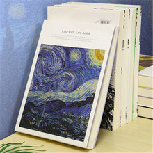 1Pc 16K Student Drawing Sketchbook Art Watercolor Book Creative Children Painting Graffiti Book Art Paper Sketchbooks 185*260mm