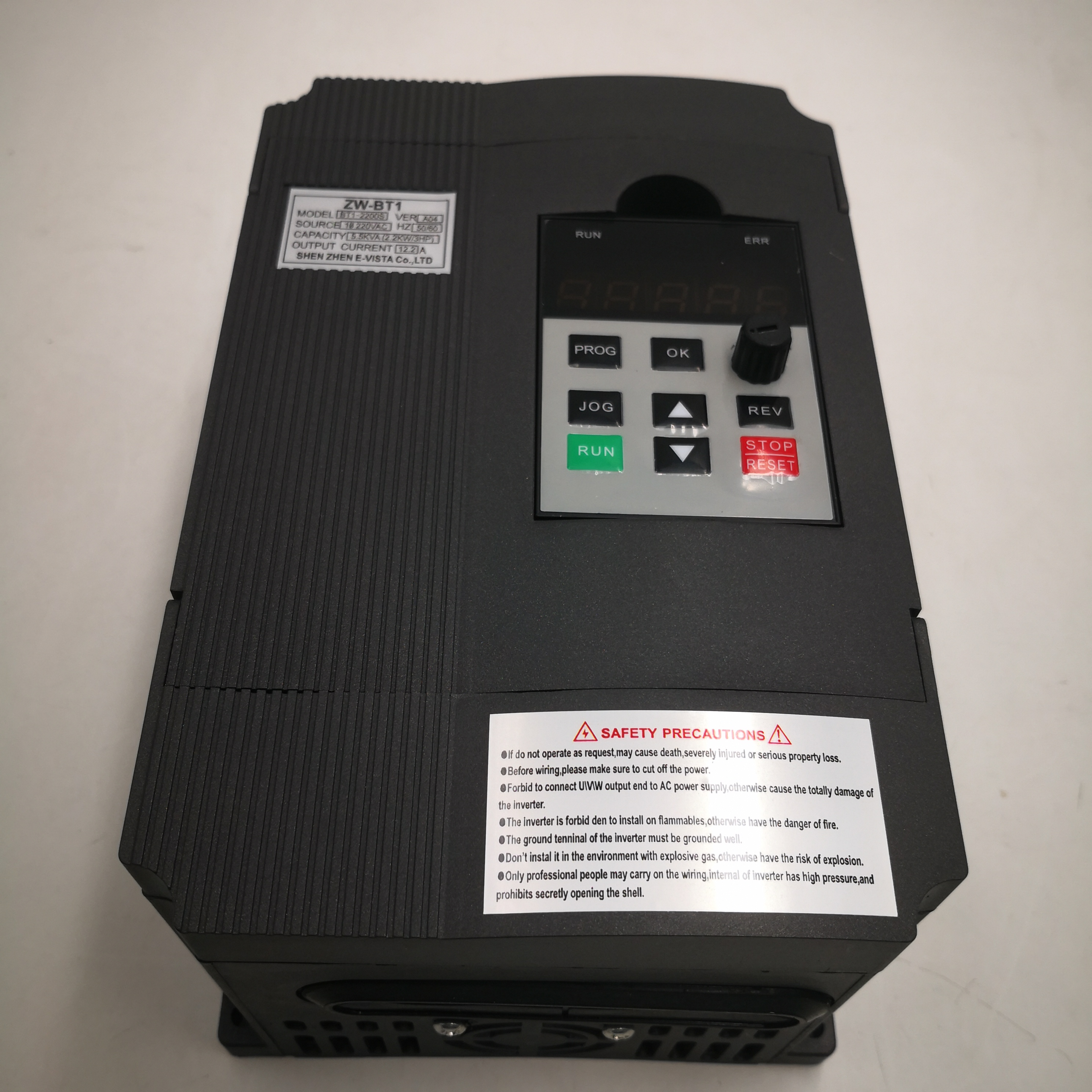 VFD <font><b>Inverter</b></font> VFD <font><b>2.2KW</b></font> 220V IN and 220V 3P OUT Variable Frequency <font><b>Inverter</b></font> Drive <font><b>Inverter</b></font> ZW-BT1 free-shipping image