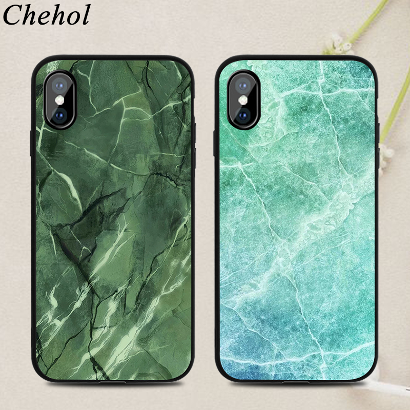 Colorful Marble Mobile Phone Cases for IPhone X XS MAX XR 8 7 6s Plus New Case Soft Silicone TPU Fitted Back Covers Accessories