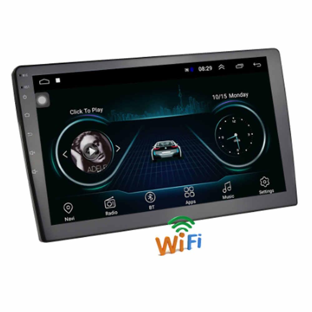 """2 din カーラジオ 7 """"hd autoradio マルチメディアプレーヤー 2DIN android タッチスクリーンの自動オーディオ、カーステレオ MP5 bluetooth usb tf fm カメラ"""