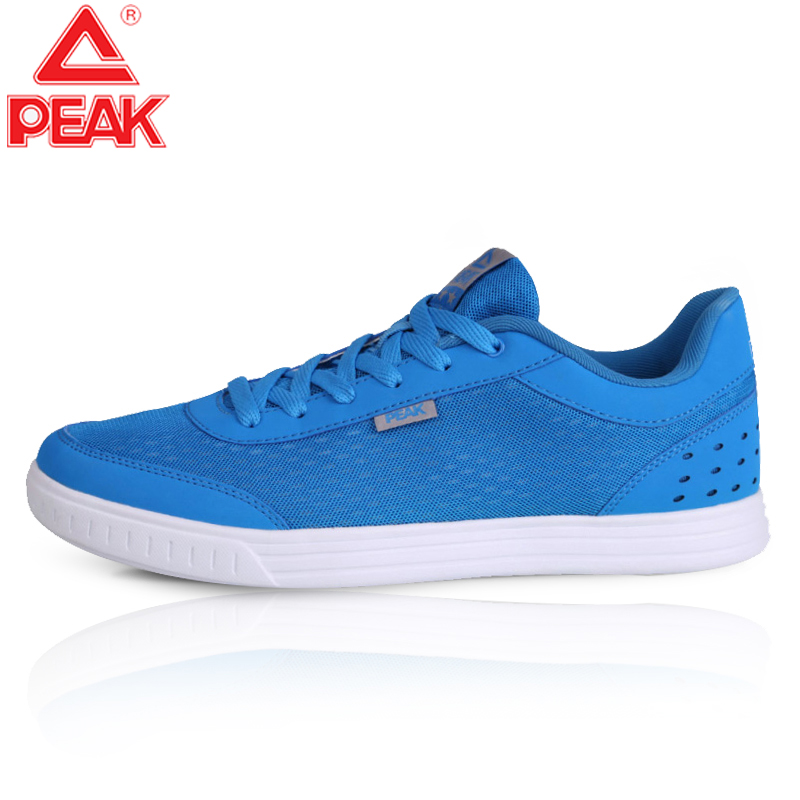 PEAK Men's Ultra Light Running Shoes Training Fitness Shoes Casual Classic Soft Bottom Sneaker Breathable Wearable Running Shoes